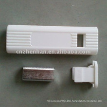 vertical blinds accessories-square cord weight with iron for vertical blind,hand grip for vertical shade components