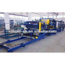 EPS sandwich panel roll forming machine line / whole equipment of eps sandwich panel roll forming machine