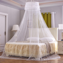 Fashionable round thickened and densified circular ceiling hanging mosquito net