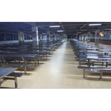 Фабричной столовой обеденный стол и стул набор мебели (foh-пульта-RTC13)