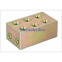 Componentes hidráulicos e adaptador de flanges