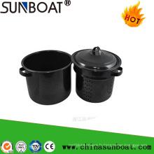 Sunboat 7qt émail pot de pot / pot de ragoût de l'entonnoir de l'émail