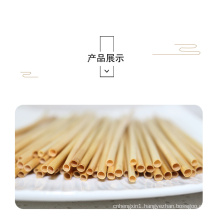 Eco-Friendly Organic Natural Wheat Drinking Straws Cocktail Straw