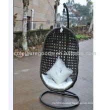 Wicker Rattan hanging swing chair