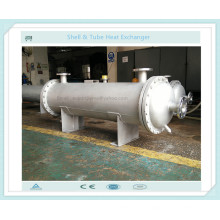 Intercambiador de calor de tipo Shell y tubo como enfriador de solución de aceite / químico