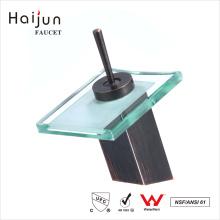 Haijun 2017 Produtos no exterior Torneira de vidro ornamentado Glass Waterfall Faucet