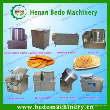 Pommes de terre frites de BEDO / bâton faisant la machine / chaîne de production