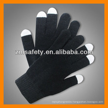Acrylic Finger Touch Gloves for Smart Phone Use