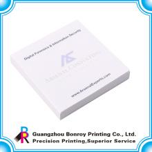 Libreta de bolsillo adhesiva barata de Guangdong con su propio logotipo