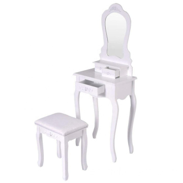 White vanity mirror furniture dressing table