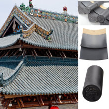 Monier Terracotta Colours Grey Clay Roof Tile Chinese Temple