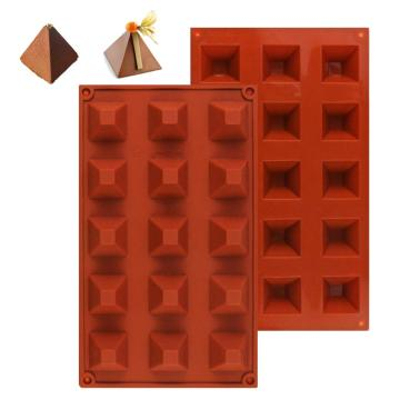 silicone bricolage moules chocolat gâteau moules pyramide
