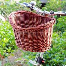 Fille en plastique panier avant de vélo avec couvercle