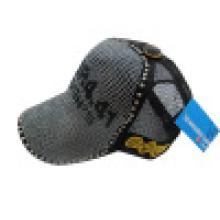 Chapeau de camionneur avec boutons métalliques (camionneur 6)
