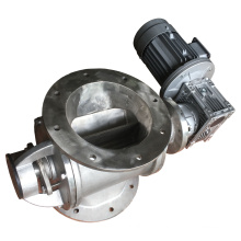 quality casting iron rotary feeder/rotary airlock/stainless steel rotary valve