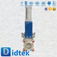 Didtek 30 Years Valve Fabricante válvula de compuerta operada neumática del cuchillo