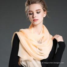 Lenço de seda anti-UV 100% senhoras no verão