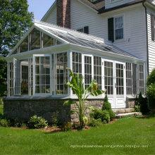 Laminated Glass Aluminium Sunlight House Aluminium Sunroom (FT-S)