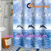 Wasserdichte Duschvorhang