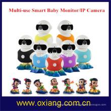 Moniteur de bébé sans fil audio numérique de Tow-way avec la lumière d'IR