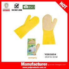 Guantes de lavado de mascotas, Guantes de piel de perro (YE83854)