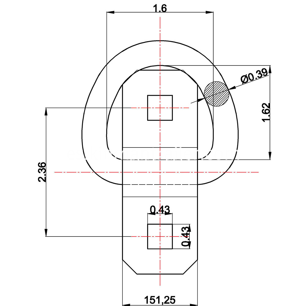 Rotating Pan Fitting