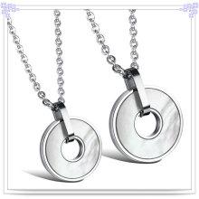 Joyería de moda collar de acero inoxidable colgante (nk209)