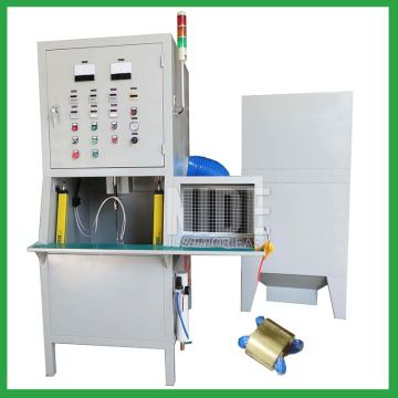 Fully automatic stator powder coating machine with counting function