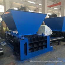 Équipement de presse à balles en acier en aluminium hydraulique
