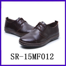 Zapatos de cuero negro para los hombres traje zapatos de vestir ropa formal