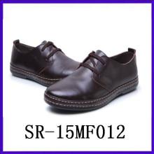 Sapatos de couro preto para homens terno vestido sapatos desgaste formal