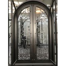 Best Sell Wrought Iron Door Swing Open Entry Door