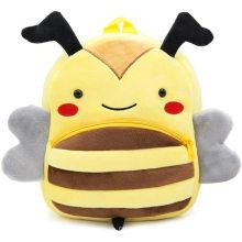 3D Tier Cartoon Honigbiene Plüsch Rucksack