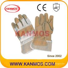 "11""Brown Pig Split Industrial Safety Work Gloves (21006)"