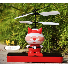 2014 FLYING SPACE MAN ! Hand Sensor & Remote Control Infrared RC Inducing Flying Spaceman Flying Robot toys hobbies