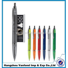 cheapest metal clip promotional banner pens with small MOQ