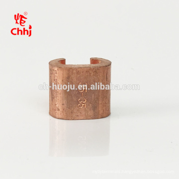 C Shape Copper Wire Clamp for cable connection accessories