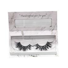 7D85 Hitomi custom lash box Private Label Mink Eyelashes 3d Mink Lashes paper eyelash packaging 3d real mink eyelash