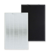 Hepa and Activated Carbon Fliter Filtrete Replacement for Bissell Air 220  Air 320 Air Purifiers