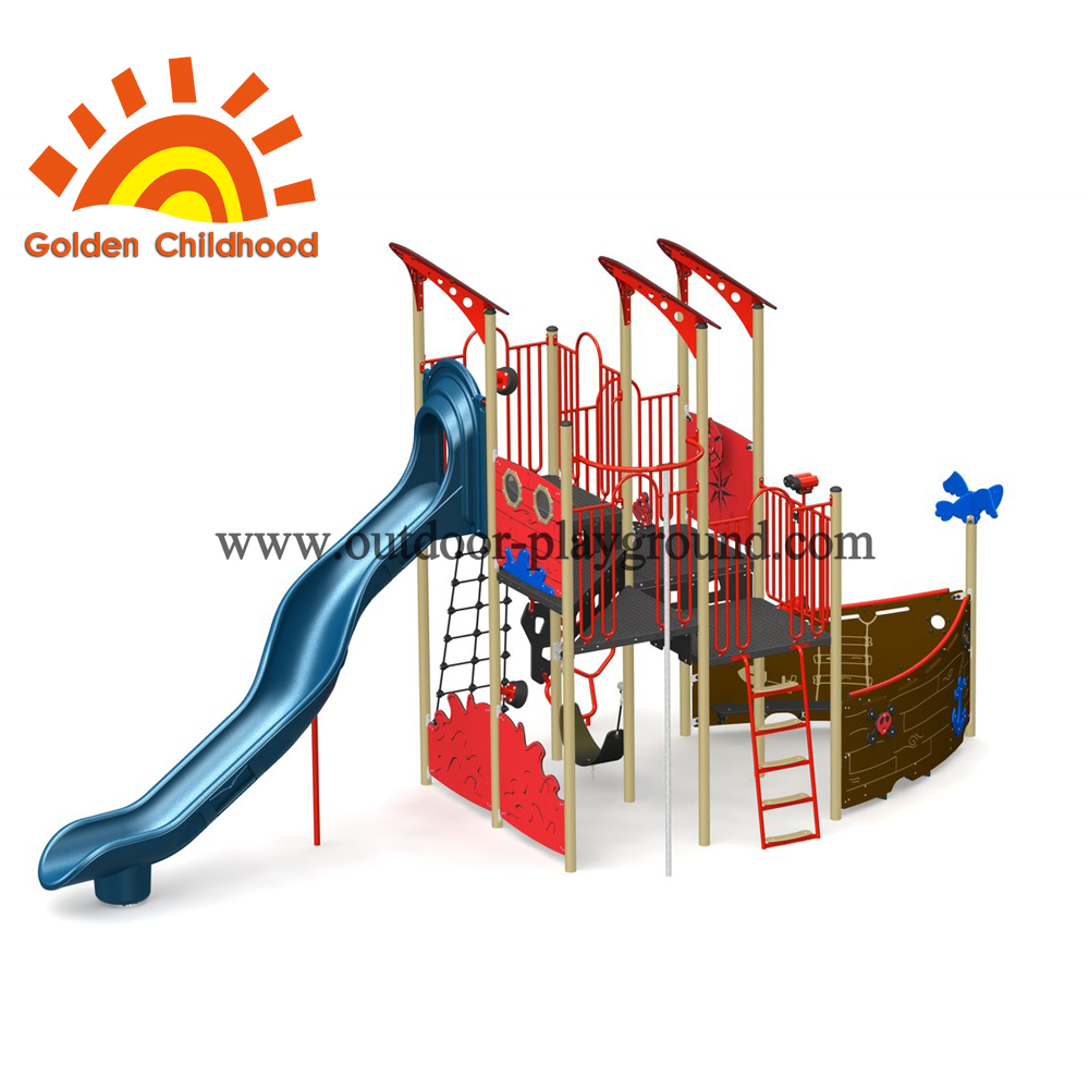 Sea Rover Outdoor Playground Equipment For Children