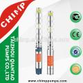Especificação do CHIMP do enrolamento de cobre submergível elétrico do cobre do motor da fase monofásica da bomba de água do poço