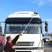Cepillo de lavado alimentado con agua de 3 m, cepillo de ducha de mango largo para la limpieza del coche