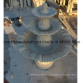 Beige Stone Sculpture Water Fountain (SY- F002)