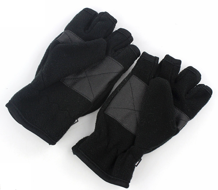 Half Finger Polar Fleece Gloves