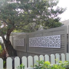 Modern Garden Metal Screens