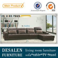 China Leather Corner Sofa Promotion Style (A817)