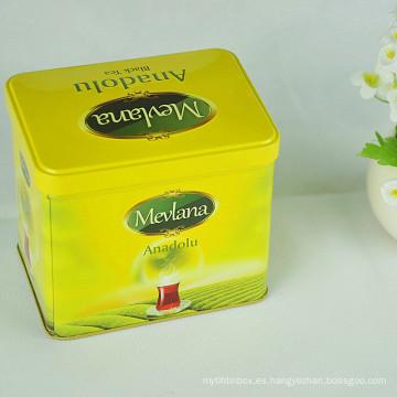 Fábrica de fabricación de té chino promocional Estaño