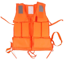 life saving vest SOLAS approved lifejacket with whistle