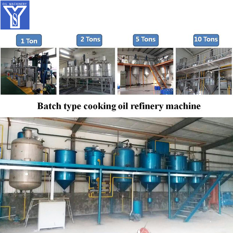 Batch Cooking Oil Refining