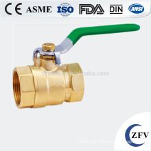 ZFV-BV-15~25 dn20 inch mini brass ball valve